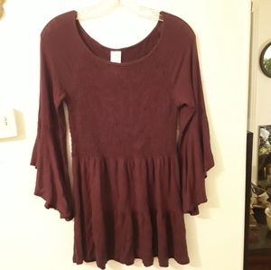 Like New Time and Tru brand maroon blouse Small
